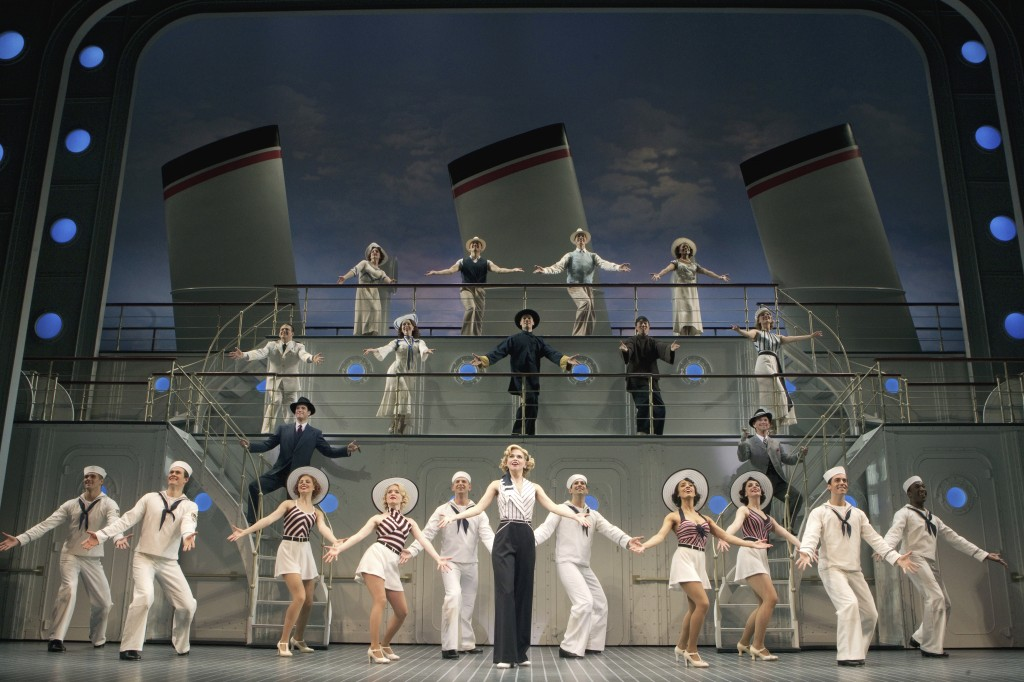 Anything Goes Stephen Sondheim Theatre Broadway