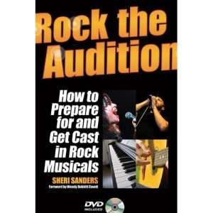 Sheri Sanders Rock The Audition Book Cover