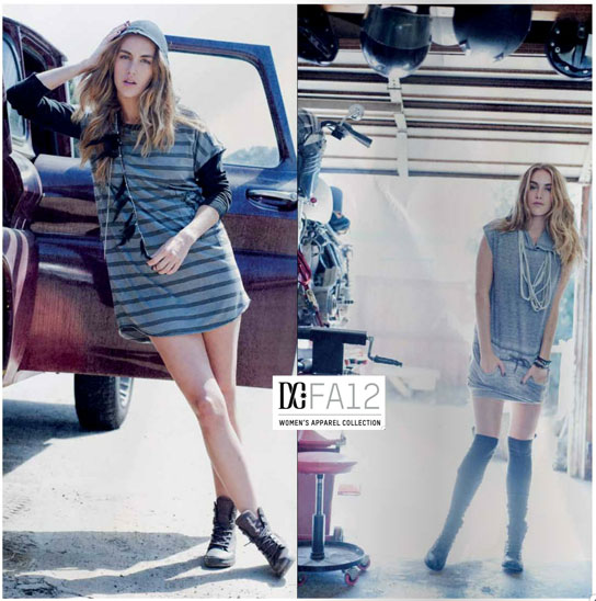 DC Shoes Women Fall 2012 skateboarding