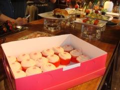 Unicorn and Glitter Strawberry Jam Cupcakes