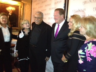 Stella Adler Award recipient James Earl Jones at the Players Club New York City on May 20, 2012