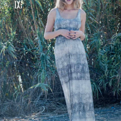 DC Shoes Camanche Maxi Dress Ombre Print