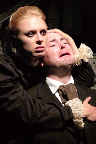 Nich Kauffman and Amelia Gotham in The Turn of the Screw
