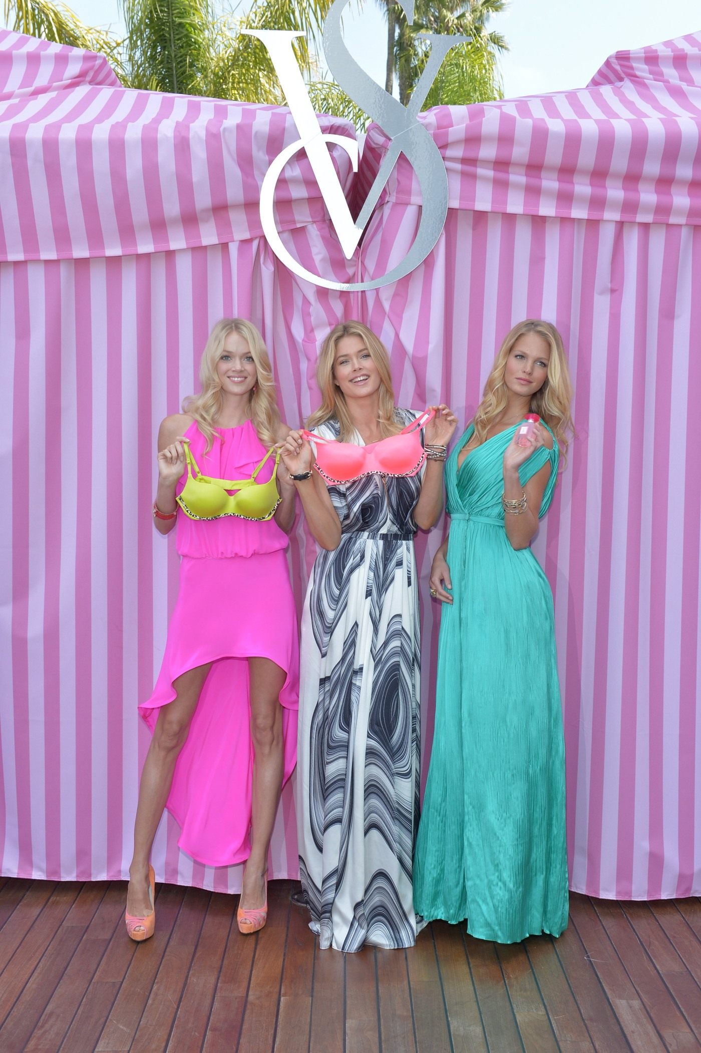 Victoria Secret Angels, Doutzen Krous, Erin Heatherton and Lindsay Ellingson