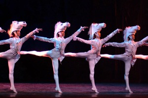 Classical Ballet of Guangzhou China cinderella horses