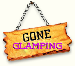 gone glamping sign