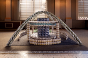 Canstruction 2013 Los Angeles, CA. Photgography by Tom Bonner