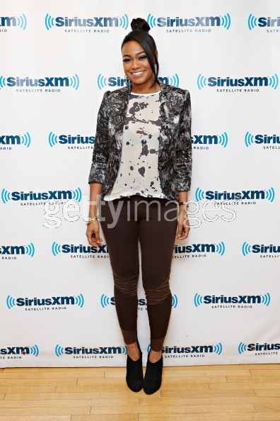 Tatyana Ali wears Christopher Collins