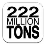 222 million tons food app