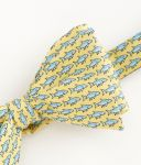Vineyard Vines Bonefish Printed Silk tie