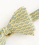 Vineyard Vines Bonefish Printed Silk tie