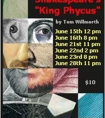 The Flynnsmen, Shakespeare, theatre, comedy, drama, Hollywood Fringe Festival, Los Angeles, posters, Gia, Gia On The Move