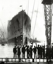 Queen Mary Maiden Voyage 1930