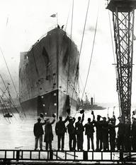 Queen Mary Maiden Voyage 1930