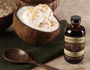 coconut vanilla ice cream