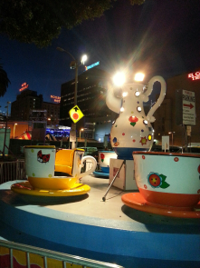 Tea Cups at the San Gennaro Feast Hollywood