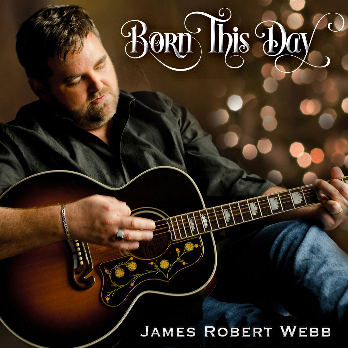 A True Country Christmas James Robert Webb, country music,