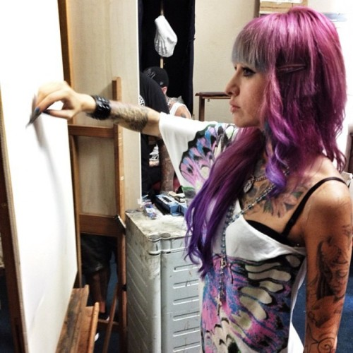 Tattoo Artists Go Back To School