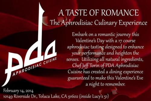 PDA Catering Valentine's Day