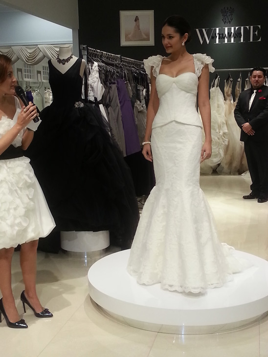 David S Bridal Opens L A Store Gia On The Move
