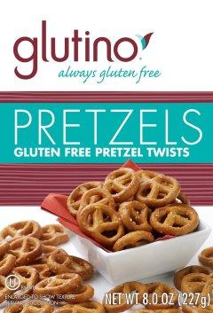 Glutino Pretzel Twists gluten free snacks