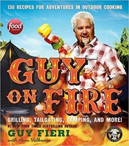 guy on fire book guy fieri summer grilling