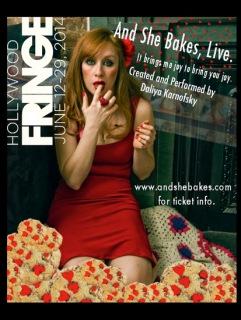And She Bakes Live Hollywood Fringe Festival
