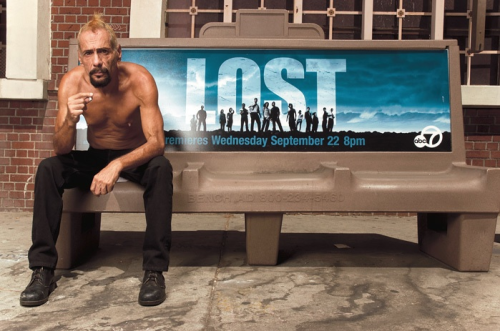 ric on LOST bench