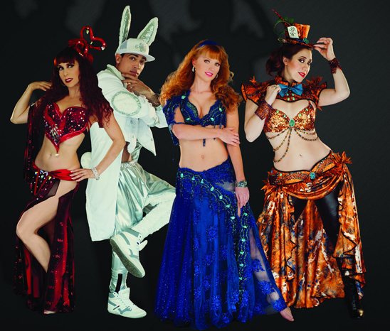alice in wonderland bellydance evolution