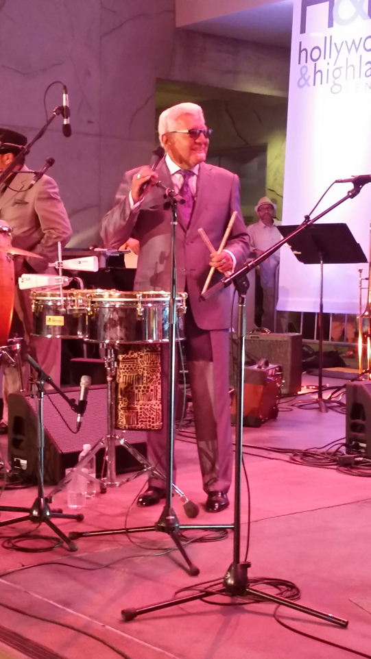 Pete Escovedo hollywood and highland jazz music