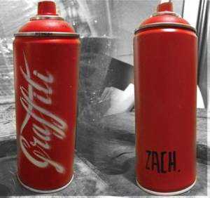 enjoy graffit spray can