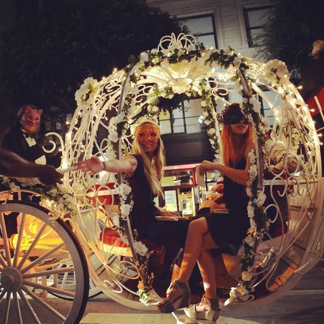 capre noctis cinderella pumpkin carriage