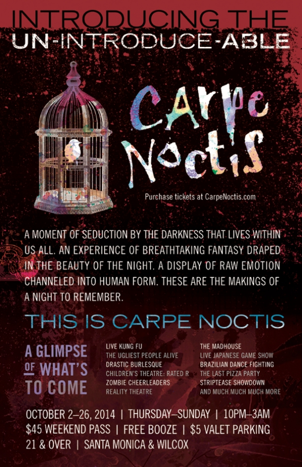carpe notis poster
