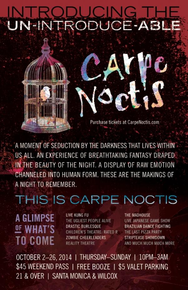 carpe notis poster