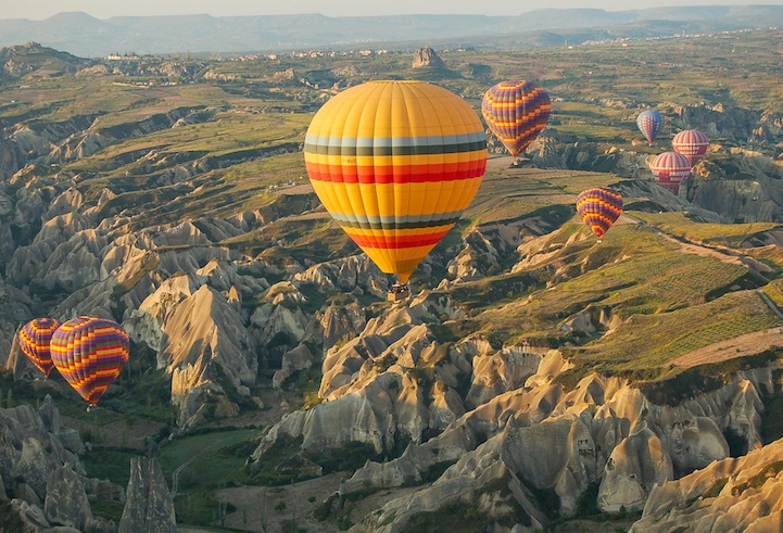 Fly in a Hot Air Balloon Over Cappadocia, Turkey (5)
