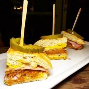 Cubano Sandwich bites