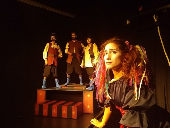 Clowns with Swords, The Three Muskateers, Hollywood Fringe Festival, theatre
