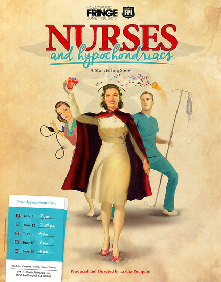 nurses, hyphochondriacs, medical patients, relationships, stand up comedy
