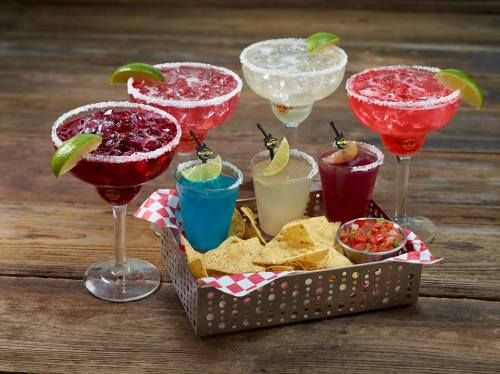 Hard Rock Cafe's Air Mexico Margaritas