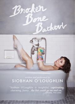 Broken Bone Bathtub Poster