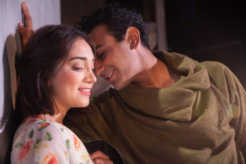 Erika Soto and Nikhil Pai in ISC's Romeo and Juliet