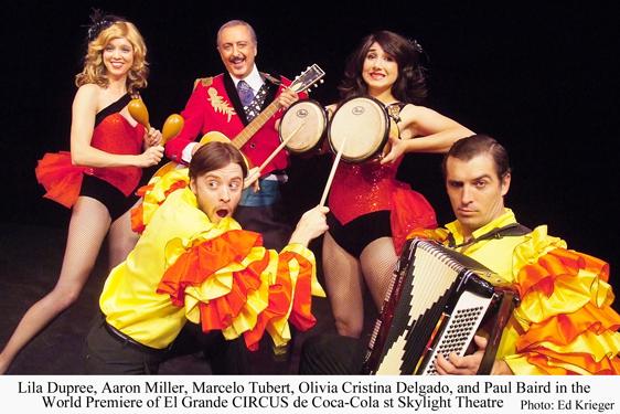 circus, dance, carnival, Skylight Theatre, El Grande Circus Coca Cola