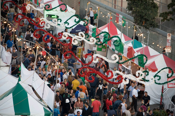 Italian festivals, St. Gennaro Festival, Hollywood