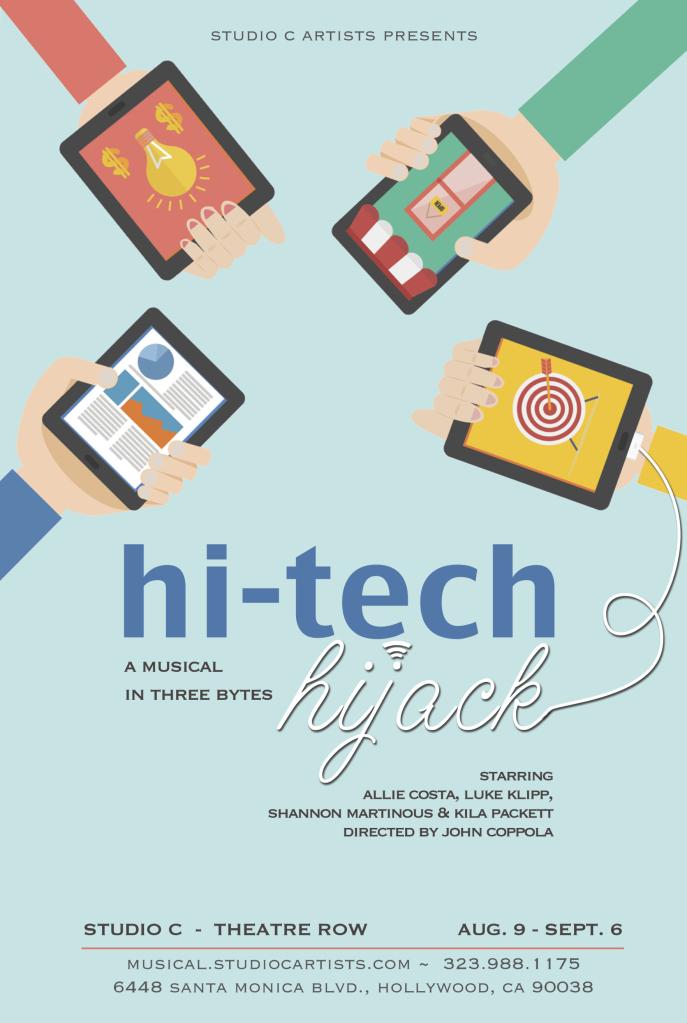 hitech hijack theatre review
