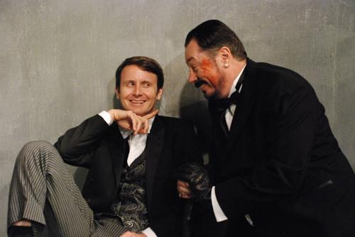 Jesse Merlin and Jon Mullich. Photo Credit: Marni Troop.