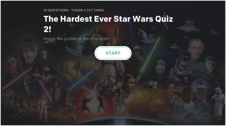 Star Wars, quiz, trivia