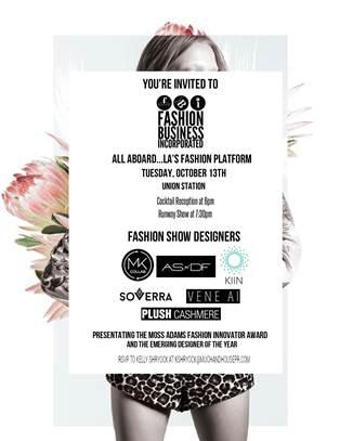 LA's Fashion Platform, Tracey Paleo, Gia On The Move