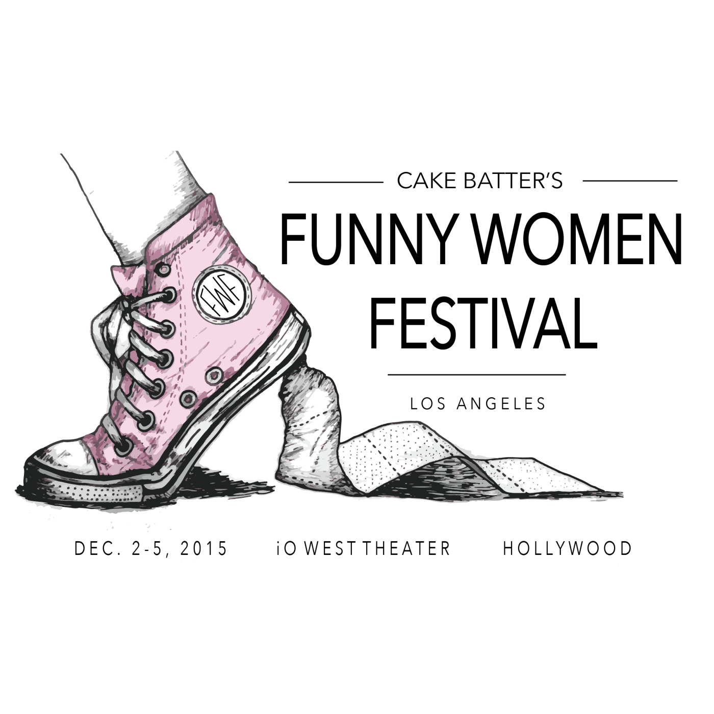 I.O. West, Cake Batter, Women in comedy