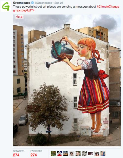 graffiti, street art, climate change