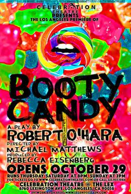 Booty Candy show poster